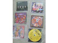 SANTANA X 4 , COLOUR ME BADD, NEXUS CDs