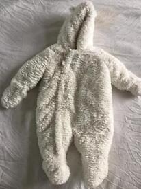 3-6 Months Cosy suit