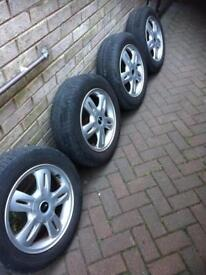 Mini one alloy wheels