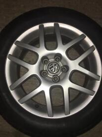 VW Golf Mk4 BBS alloys