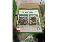 xbox one far cry double pack