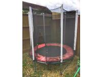 PLUM 6ft trampoline with brand new Mat including