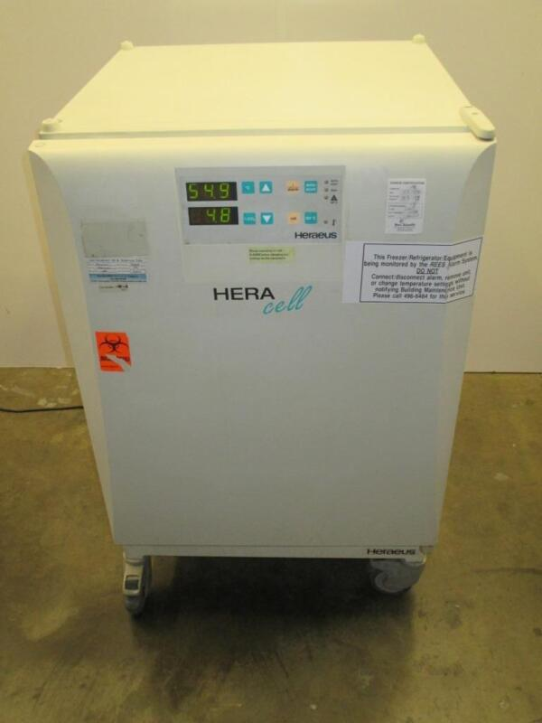Kendro Laboratory HERAcell Heraeus Copper Interior CO2 Incubator Oven With Cart