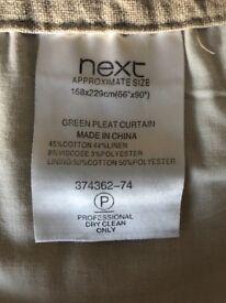 NEXT curtains/cushions set