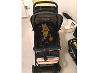Hauck travel system (pram & car seat)