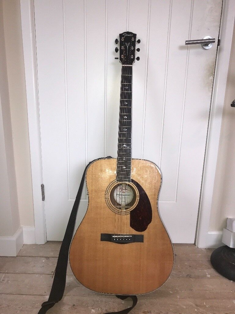 Fender PM-1 Deluxe Dreadnought Acoustic/electric Guitar