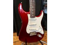 2008 Fender American Standard Stratocaster – Candy Cola Red
