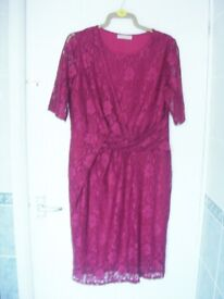 Anthology cherry lace dress - size 16
