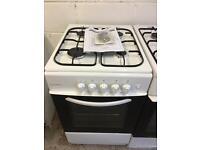 White 50cm Cookworks Gas Cooker LIKE NEW just £75 Sittingbourne