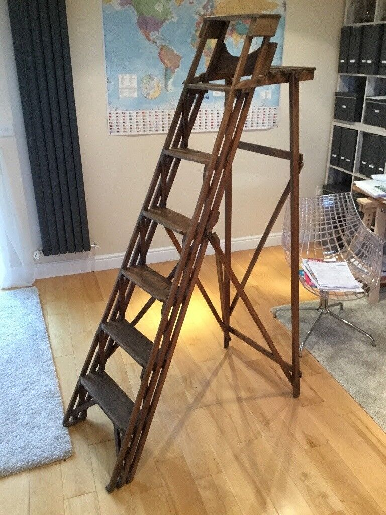 Hatherley patent lattistep ladders