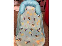 Baby bath seat - blue