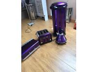 Purple house hold kitchen goods
