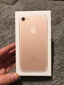 Gold iPhone 7 128GB