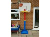 Little tykes basketball set