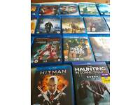 Blu Rays (18 ) as new