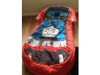 Thomas the tank engine, my first ready bed, hardly used.
