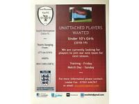 U10's Girls Football Players Wanted