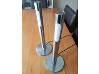 Chrome Modern lamps