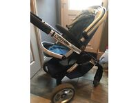 Icandy peach one with jogger seat