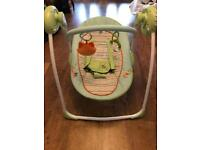 Baby swing great condition