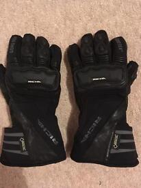 Richa Gore-tex Motorbike gloves