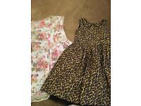Girls dresses (Next) age 10