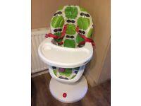 Cosatto high chair 3sixti apple