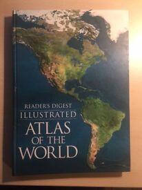 Illustrated Atlas of the World (World Atlas) by Reader's Digest Large Hardback Book