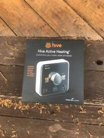 Hive active 2 thermostat. Heating and hot water. BNIB