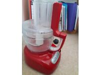 KitchenAid Food Processor with attachments, good condition