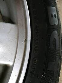Honda civic spare wheel