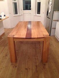 Handmade Solid Oak Dinning Table