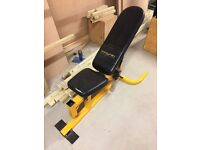 Weight lifting bench - commercial grading
