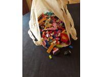 Big bag of Lego loose 1.5+ kg. Mainly sets (friends).