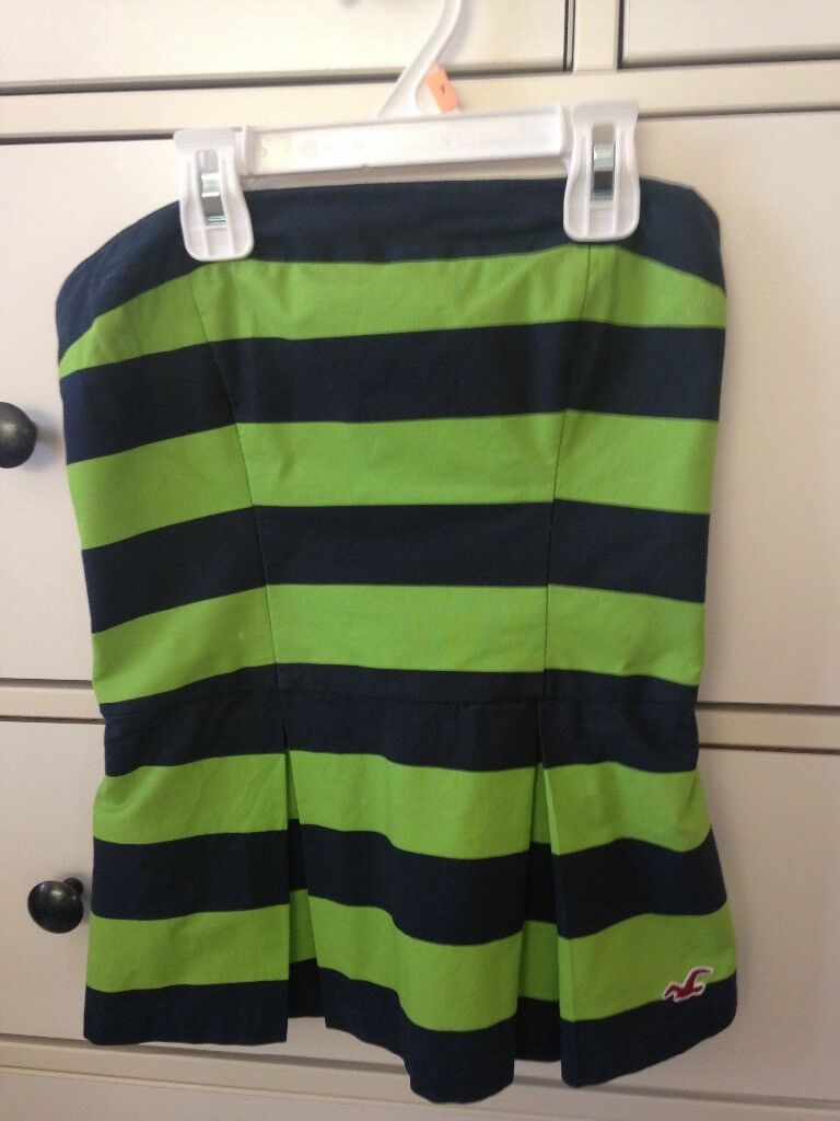 Hollister strapless top size small
