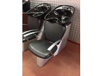 2 x hairdressing salon backwash units