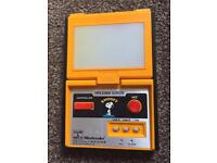 Nintendo game and watch very rare snoopy panorama screen for sale  Clackmannanshire