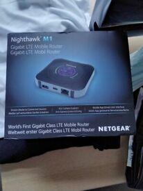 Brand new unlocked Netgear nighthawk M1 mobile broadband router