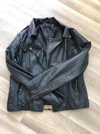 Ladies miss selfrifdge biker jacket