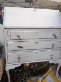Shabby Chic Bureau - Free Delivery