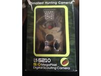 Smallest hunting camera