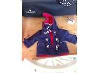 Zip zap 3mth coat
