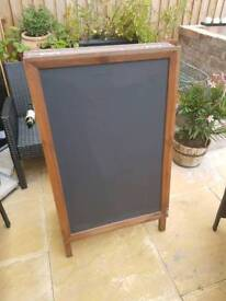 Mint shop front display board