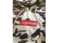 Supreme Camo Hoodie Size XXL