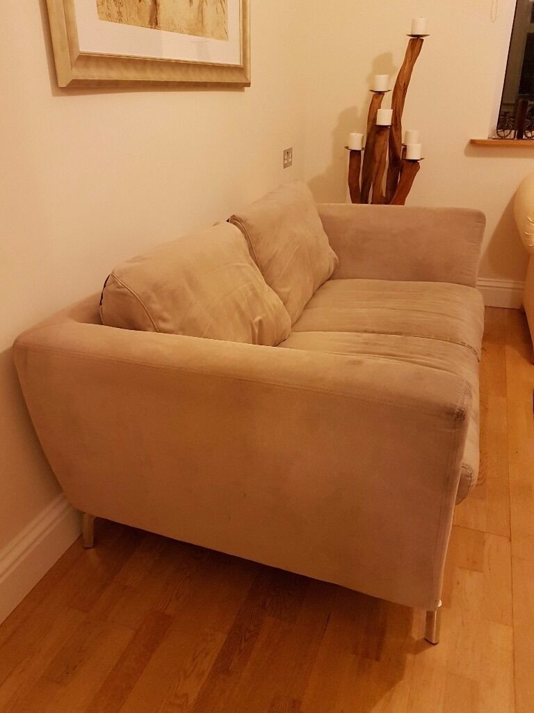 Comfortable neutral sofa