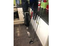 Full Set of Wilson Golf Clubs