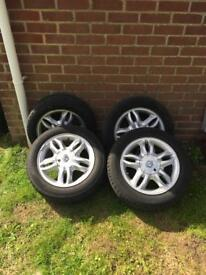 Clio mk3 alloy wheels 4x100 Renault