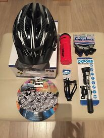 Cycling accessory package ideal for Christmas