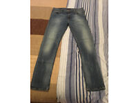 """Men's Nudie High Kai Skinny Fit Jeans Size 36"""" Waist 32"""" Leg Paid/Cost £120 Pre-Owned In Good Cond!"""