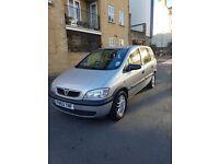 Vauxhall Zafira 2003 Silver 1.8l